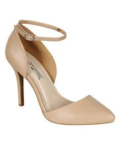 Look at this #zulilyfind! Nude Momentum D'Orsay by Bamboo #zulilyfinds