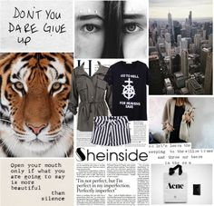 """""""Don't you dare give up"""" by airplane ❤ liked on Polyvore"""