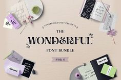 The Wonderful Font Bundle 6