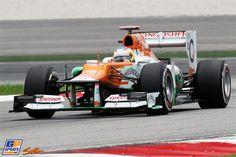Paul di Resta, Force India F1, 2012 Malaysian Formula 1 Grand Prix, Formula 1
