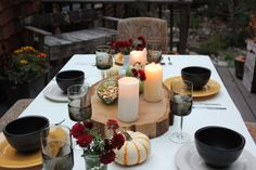 Amanda Louise: Autumn Dinner Party
