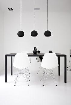 Black + white. Norm architects