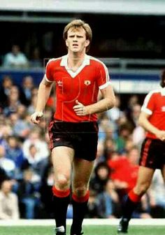 Andy Ritchie of Man Utd in 1980.