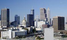 Atlanta skyline  Georgia