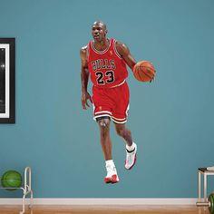 factory price a5177 3cd46 Michael Jordan Nba Chicago Bulls, Chicago Shopping, Removable Wall Decals, Michael  Jordan,. Fathead