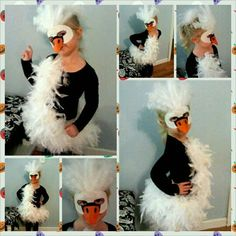 Kelsiu0027s Swan costume 2013 - Buscar con Google & Bjork Swan Dress Costume Tutorial | fall-o-ween. | Pinterest ...