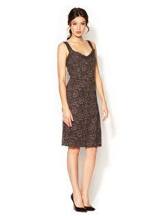 Lace Wool Dress by Dolce & Gabbana at Gilt