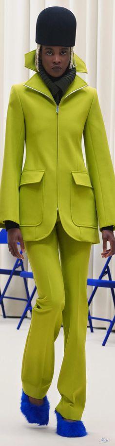 Fall 2021 RTW Nina Ricci Fashion 2020, High Fashion, Womens Fashion, Fashion Colours, Diva, Fall, Greenery, Collection, Colors