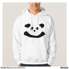 Panda Face Men's Hoody  Available on more products! Type in the name of the design in the search bar on my Zazzle Products Page. Thanks for looking!   #tee #shirt #t-shirt #clothes #fashion #childs #children #kid #men #women #adult #unisex #sweatshirt #shirt #long #sleeve #hoody #jacket #girl #boy #fun #zazzle #buy #sale #cute #cuddly #panda #bear #cartoon #illustration #black #white #drawing #nature #planet #earth #animal #friend