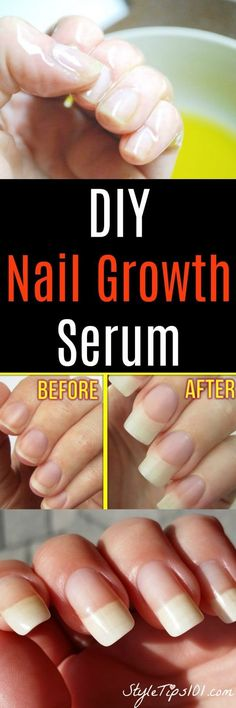 DIY Nail Growth Serum