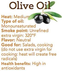 Oleic acid, a fatty acid in olive oil, can help keep the body content for longer in between meals Holistic Nutrition, Health And Nutrition, Health And Wellness, Health Fitness, Reading Food Labels, Healthy Oils, Healthy Habits, Food Facts, Health Facts