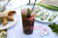 Low calorie Blackberry Mojito!  Nice and refreshing!