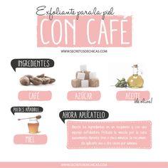 Exfoliante casero para la piel con café