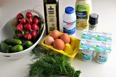 Salata de vara - Retete culinare by Teo's Kitchen Muesli, Lidl, Mayonnaise, Serving Bowls, Eggs, Breakfast, Tableware, Food, Breakfast Cafe