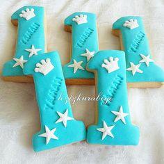 Tacli erkek 1 yaş kurabiyesi