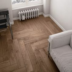 Timber tile chevron