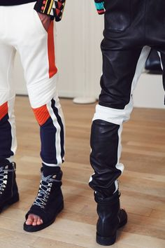 Balmain SS15 Mens collections, Dazed backstage