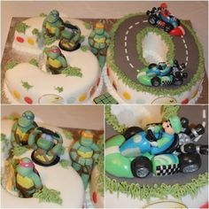 80's Theme Cake - by Treatsandtreasures @ CakesDecor.com - cake decorating website