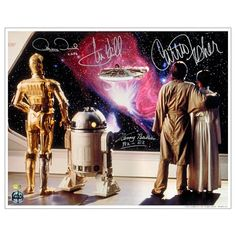 Star Wars Cast Autographed 16x20 The Empire Strikes Back Galaxy View Photo @ niftywarehouse.com #NiftyWarehouse #Geek #Products #StarWars #Movies #Film