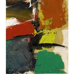 Franz Kline - Untitled (ca. 1958) Oil on paper