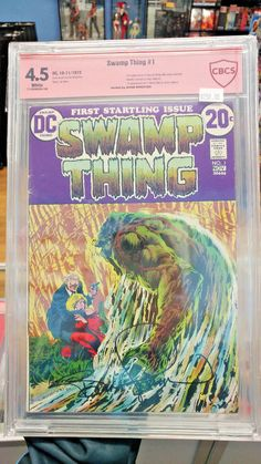 SWAMP THING #1 - CBCS Grade 4.5 - SIGNED!!!! Verified Bernie Wrightson signature!  https://www.ebay.com/itm/SWAMP-THING-1-CBCS-Grade-4-5-Verified-Bernie-Wrightson-signature-/292378319269?roken=cUgayN&soutkn=bY6nfE