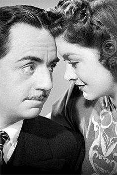 William Powell & Myrna in the Thin Man