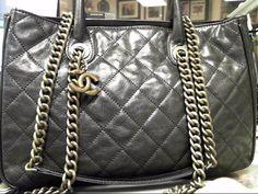 16d4274841c  3500 CHANEL WASHED GLAZED CAVIA SHIVA BLACK TOTE Tough Bag to Find  CHANEL   Steve Mack  purseforum  purseforum  rarebags