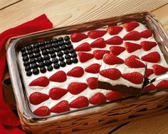 An American Tradition: The Jello Flag Cake « Multiculturalcookingnetwork's Blog