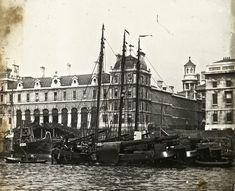 Billingsgate Market - c 1910 Vintage London, Old London, East London, London City, London History, British History, London Market, London Photos, London Pictures