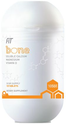 The powerful bioactive blend in Fit Bone is derived from highly bioavailable vitamins and minerals, which are more easily absorbed by the body to support optimal bone health.*    *These statements have not been evaluated by the Food and Drug Administration. This product is not intended to diagnose, treat, cure, or prevent any disease.