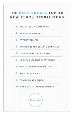Great uplifting goals for #nye #resolutions