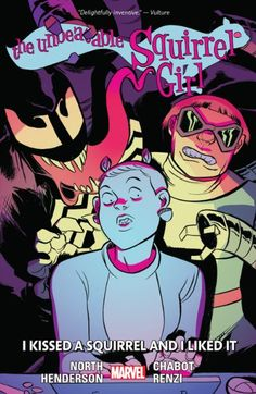 Check out The Unbeatable Squirrel Girl Vol. 4: I Kissed A Squirrel And I Liked It on @Marvel