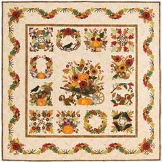 Baltimore Autumn Block of the Month Quilt