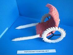 3D Origami - Wagon