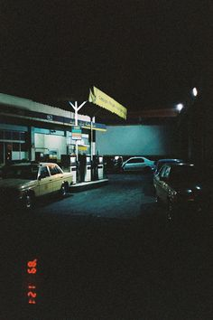 late night gas stations
