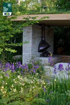 RHS Chelsea Flower Show - Show Garden - The Homebase Garden – Time to Reflect in association with Alzheimer's Society Homebase Adam Frost