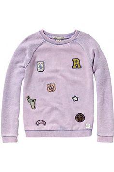 Sweatshirts fille - Scotch&Soda Sweat-shirt Fille - Rose