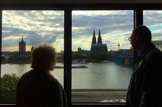 Führung im Kölner #Hyatt. Zimmer mit Ausblick
