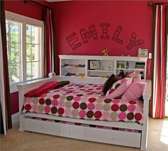 Your little girl's room will now be complete with the Fantasy Daybed from Country Cottage! This daybed features shelving for knick knacks and necessities and an included twin size trundle for when your little girl has sleepover parties