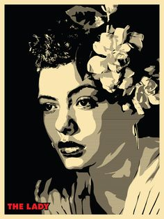Joshua Budich 'The Lady'... Billie Holiday