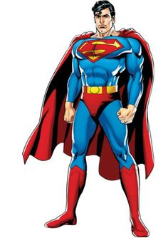 It's a bird...it's a plane...no it's a Superman Justice League Fathead! Enjoy decorating with this enormous Man Of Steel wall decoration to make any kids bedroom into a Super bedroom. Extra smaller Fa