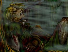The Legend of Zelda, Link / Hero's Right to Bleed--v2 by kyuumu on deviantART NNOOOOO *whimpers*