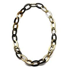 QueCraft Horn Chain Necklace - Q5187