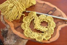 Make your own crochet flower