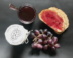 Really love this, from the Etsy shop PhillipsRanchJams. Grape Jam, Apple Jam, Peach Jam, My Jam, Jar Gifts, Fruit Trees, Homemade Gifts, Jelly, Berries