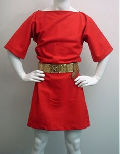 Tunic derives from the Latin tunica commonly worn by both men and women in Ancient Rome, generally made of cloth. the tunic was the most common undergarment.