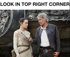 If you can see it, pin it now!! #starwars #starwarsday #HanSolo #Rey