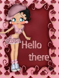 Betty Boop Pictures Archive: Betty Boop Hello pictures by Lora