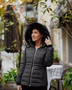 Our fully-quilted puffer jackets promise to keep you warm without compromising on style. Holly braves the cold in our Lisa Puffer, ideal from chilly work commutes to relaxed weekend plans. Puffer Jackets, Winter Jackets, Weekend Plans, Lisa, Cold, Warm, Style, Fashion, Winter Coats