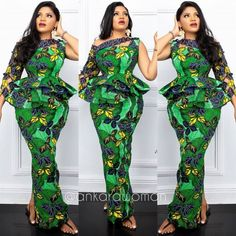 nigerian dress styles 2020 Latest Trending And classy Ankara Long Gowns styles For Every Lady to check stunnig styles in Vogue Unique Ankara Styles, Ankara Long Gown Styles, Ankara Styles For Women, Latest Ankara Styles, African Fashion Ankara, Latest African Fashion Dresses, African Print Fashion, African Prints, Nigerian Dress Styles